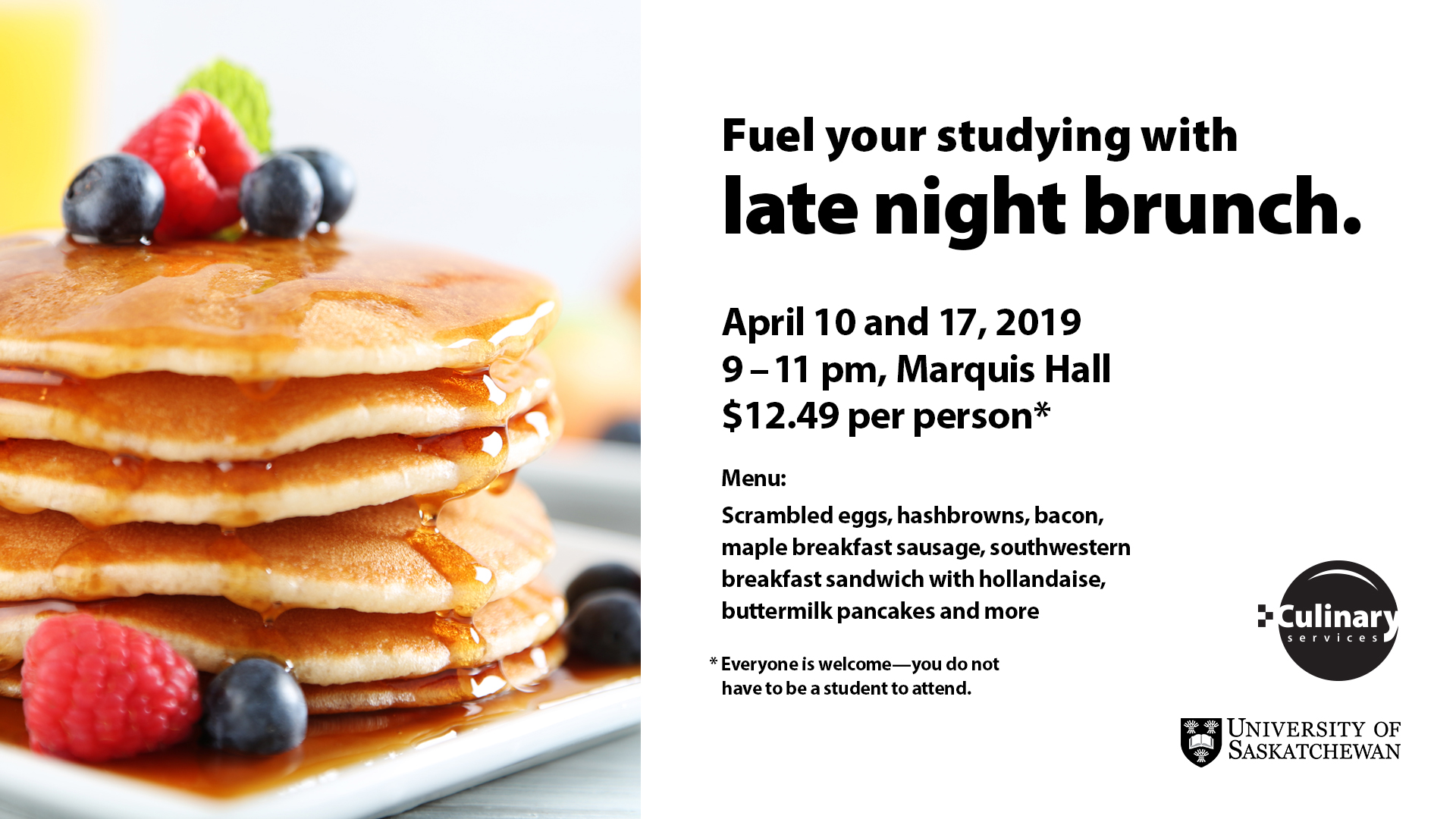 Late Night Brunch April 2019
